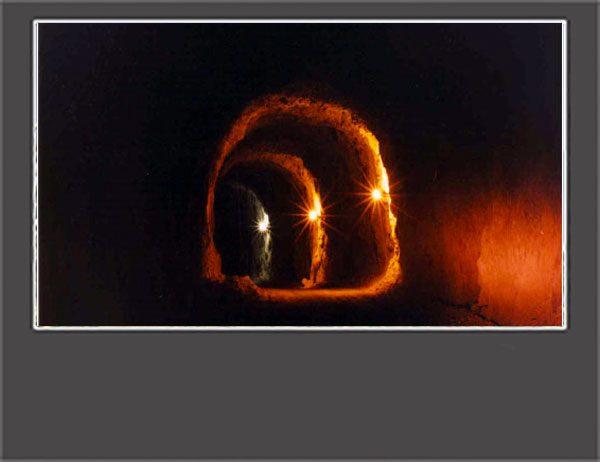 كارون 3-تونلهاي پنستاكهاي نيروگاه
